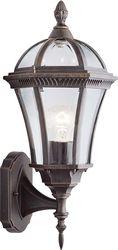 Buiten wandlamp Capri - Bruin - 20 x 40,5 cm - Searchlight